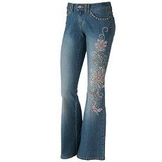 Angels Flare Jeans - Juniors | Clothes | Pinterest | Flare ...