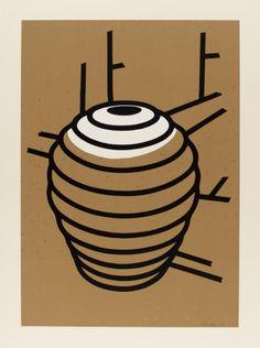Patrick Caulfield 'Ridged Jar', 1980 © The estate of Patrick Caulfield. All Rights Reserved, DACS 2015