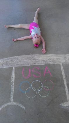 Cute gymnast!