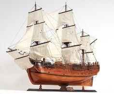 Endeavour Tall Ship Model