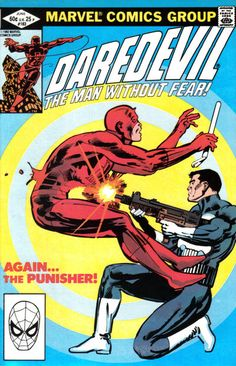 Daredevil #183 (1964 series) - cover by Frank Miller