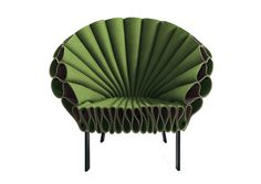 Proud as a Peacock, a chair by  Studio Dror for Cappellini.