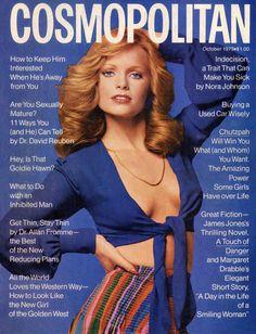 Kathy Davis for Cosmopolitan US October 1973