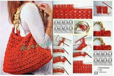 Todo crochet: Bolso Crochet Paso a Paso en video