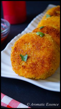 Potato Chops (Meat-Stuffed Indian Potato Pancakes) | Recipe | Potato ...
