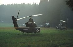 """the-cold-war: """" Cobras in the mist. During the 1980 """"Reforger"""" exercise. """""""
