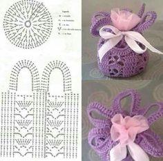 Bolsitas Crochet