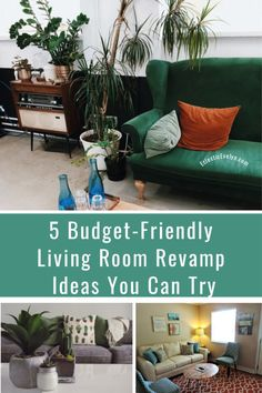 5 Budget-Friendly Living Room Revamp Ideas You Can Try Bright Curtains, Wall Storage Shelves, Comfortable Couch, Old Sofa, Center Table, Wall Colors, Home Decor Inspiration, Interior Ideas, Home Improvement
