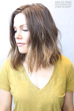 CLASSIC SHOULDER LENGTH  Cut/Style: Anh Co Tran • IG: @Anh Co Tran • Appointment inquiries please call Ramirez|Tran Salon in Beverly Hills at 310.724.8167. #dreamhair #fallhair2015 #fantastichair #amazinghair #anhcotran #ramireztransalon #waves #besthair2015 #livedinhair #coolhaircuts #coolesthair #trendinghair #model #movement #fallhaircut2015 #favoritehair #haircuts2015 #besthair #ramireztran #brunette #brownhair #blondehighlights #aline