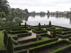 Mogosoaia Palace, view of the garden and lake - Wikipedia, Bucharest