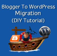 Migrate from Blogger to WordPress without loosing Google Search Ranking, Traffic, etc  This tutorial is the easiest to follow that I've seen so far.
