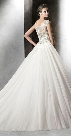 pronovias prismal 2016 wedding dresses delicate back designs