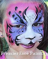 Premier Face Painting Louisville KY-Using for Beneath the Surface Summer Reading