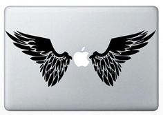 angel wing---Macbook decal Macbook sticker Mac decal Mac sticker  Mac decal Macbook pro decal Macbook air decal ipad decal iphone decal