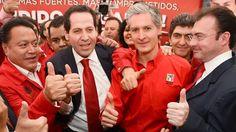 TIEMBLA PEÑA NIETO Y no es para menos. A estas alturas el presidente de la república Enrique Peña Nieto se juega su destino final, la gubernatura del Estado de México.