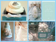 Tiffany theme wedding