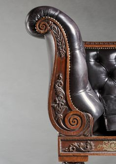 Antique Regency Period Daybed Attributed to William Trotter of Edinburgh 2