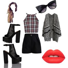 Untitled #96 by popalah on Polyvore featuring polyvore fashion style Elisabetta Franchi Lime Crime