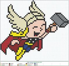 Thor baby EN HAMA BEADS