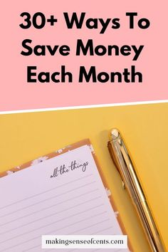 30+ Ways To Save Money Each Month Saving Ideas, Money Saving Tips, Household Expenses, Money Today, Managing Your Money, Frugal Living Tips, Financial Goals, Ways To Save Money, Finance Tips