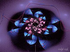 Spiral Flowerlg by gadgetgeekdesigns.deviantart.com on @deviantART