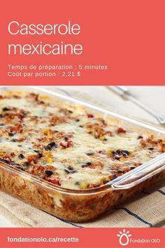 Mexican casserole with rice, ground turkey, black beans, corn and tomatoes. Easy Smoothie Recipes, Easy Smoothies, Healthy Recipes, Mexican Casserole, Brunch, Coconut Recipes, Mexican Food Recipes, Mexican Dishes, Macaroni And Cheese