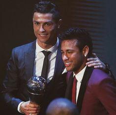 Cristianos Ronaldo y Neymar