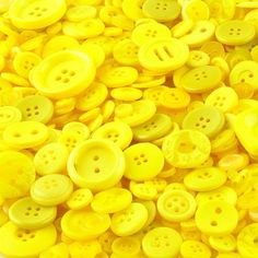 Wholesale Yellow Buttons 1kg £14.99 with Free shipping for UK Deliveries - Lower Prices For Bulk Orders Wholesale Buttons, Button Crafts, Craft Supplies, Yellow, Free Shipping, Stationery