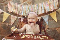 Cake Smash Middle Georgia Baby Photographer MonkeyBean Photos