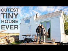 TINY HOUSE TOWN: Ma Maison Logique - a Cozy, Canadian Tiny House