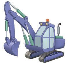 How to Draw Excavators