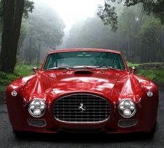 GWA Ferrari F340 Competizione, based on the 1952 Ferrari 340 Mexico Berlinetta. 5.4L V12 Engine puts out 476 bhp @ 6300 rpm. Price? Don't ask!