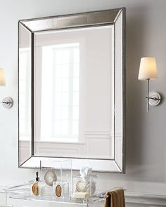 Beaded Wall Mirror - Horchow