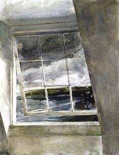 Andrew Wyeth, Dock Lights, 2003, urgetocreate