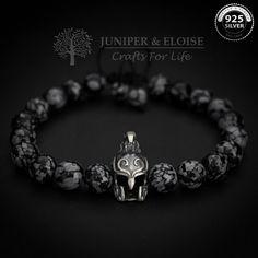 Elven casque Bracelet Mens Bracelet Elven par JUNIPERANDELOISE