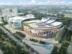 Oceanic Shopping Centers - The Aedas Olympia 66 Mall Embodies Wealth and Abundance (GALLERY)