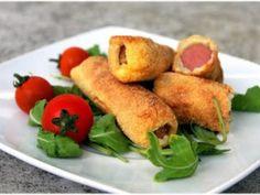 Croquettes de saucisses // Présentez vos saucisses de manière originale en les…