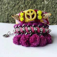 Check out this item in my Etsy shop https://www.etsy.com/listing/210311808/friendship-bracelets-arm-party-arm-candy