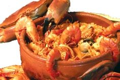 Arroz de marisco- delicious, classic one pot meal! Fish Recipes, Seafood Recipes, Great Recipes, Cooking Recipes, Favorite Recipes, Paella, Portuguese Recipes, Portuguese Food, Comida Latina