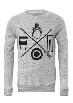 #themomlife Icon Marble Pullover Sweatshirt