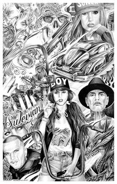 Madness #DAREALPRISONART #prisonart #art #prison Chicano Art Tattoos, Chicano Drawings, Chicano Lettering, Arte Cholo, Cholo Art, Thrasher, Sick Drawings, Chicanas Tattoo, Filigree Tattoo