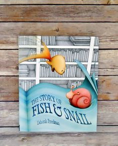 "A very simple yet powerful story about taking leaps and making sacrifices. Although not so much about compromise. Sometimes it does take ONE hero. If we wait around for ""compromise,"" we might miss out. Ultimately: a story about ACTION. The Story of Fish and Snail by Deborah Freedman"