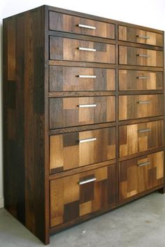 Simon Dresser customized for a client of Cliff Spencer Furniture Maker Reclaimed Wood Furniture, Recycled Furniture, Woodworking Furniture, Home Decor Furniture, Furniture Making, Luxury Furniture, Home Furnishings, Modern Furniture, Furniture Design
