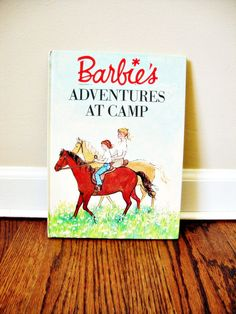 Barbie's Adventures at Camp  1964  Hardback by 8pointdesign, $15.00