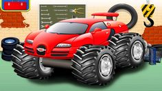 Monster Truck Maker Gameplay Car Game Cartoon for Kids #3