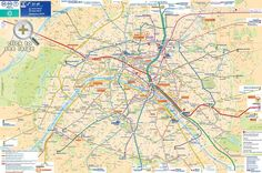 Paris top tourist attractions map Most popular places to visit detailed guide