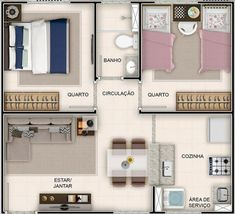 House Layout Design, Sims 4 House Design, Small House Design, House Layouts, Minecraft House Plans, Sims House Plans, Small House Plans, Apartment Layout, Apartment Plans