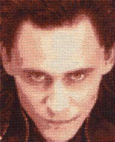 Loki - Cross Stitch by *shingorengeki on deviantART