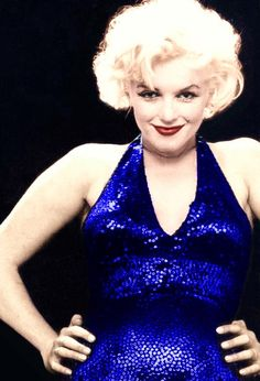 Marilyn, photographed by Richard Avendon ~ 1958 (color enhanced)