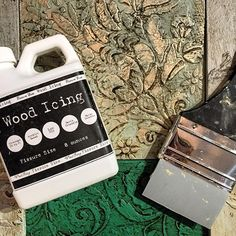 ⚠️Could your furniture use a little interest and appeal? ✨ Wood Icing is one of our favorite (and easiest) products for adding a wooden textural appearance to bland decorative pieces!  Available in-shop and online!  #diy #woodicing #anniesloan #chalkpaint #easy #fun #workshop #paintpassionnj #redbank #nj #monmouthcounty #texture #interior #design #home #decor #morethanpaint #favorite #custom #shopsmall #shoplocal